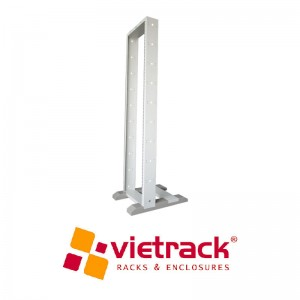 2 Posts Open Rack 20U-Light Grey
