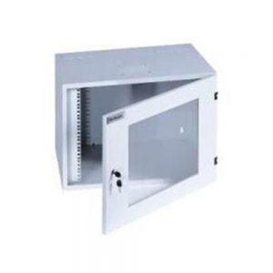 """Tủ 19"""" 9U treo tường-EKOWALL50, 500mmDx600mmWx500mmH-Mica-1 cửa-1 quạt"""