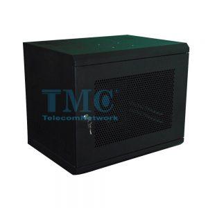 TỦ RACK TMC 10U D500 - ĐEN - LƯỚI- TREO TƯỜNG