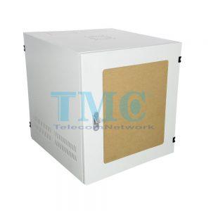 TỦ RACK TMC 10U D500 - TRẮNG - MICA - TREO TƯỜNG
