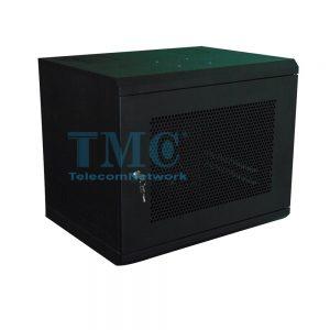 TỦ RACK TMC 12U D600 - ĐEN - LƯỚI - TREO TƯỜNG