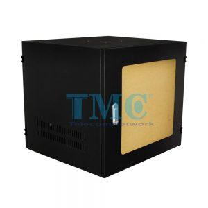 TỦ RACK TMC 12U D600 - ĐEN - MICA - TREO TƯỜNG