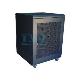 TỦ RACK TMC 15U D600-ĐEN-LƯỚI