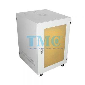 TỦ RACK TMC 15U D600 - TRẮNG - MICA
