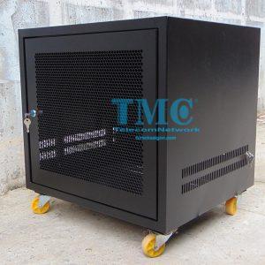 TỦ RACK TMC2 12U D500 - ĐEN - LƯỚI