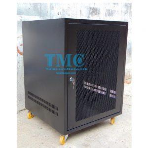 TỦ RACK TMC2 15U D600-ĐEN-LƯỚI
