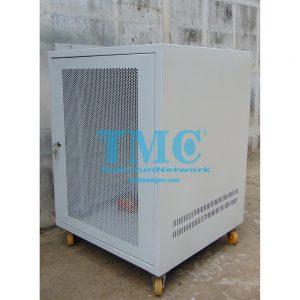 TỦ RACK TMC2 15U D600 - TRẮNG - LƯỚI