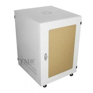 TỦ RACK TMC2 15U D600-TRẮNG-MICA
