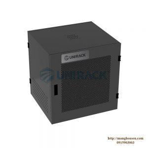 TỦ UNIRACK 10U D500 - ĐEN - LƯỚI