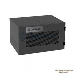 TỦ UNIRACK 6U D400 - ĐEN - LƯỚI