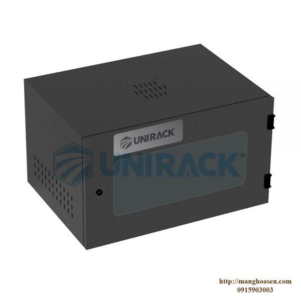 TỦ UNIRACK 6U D400 - TRẮNG - MIKA